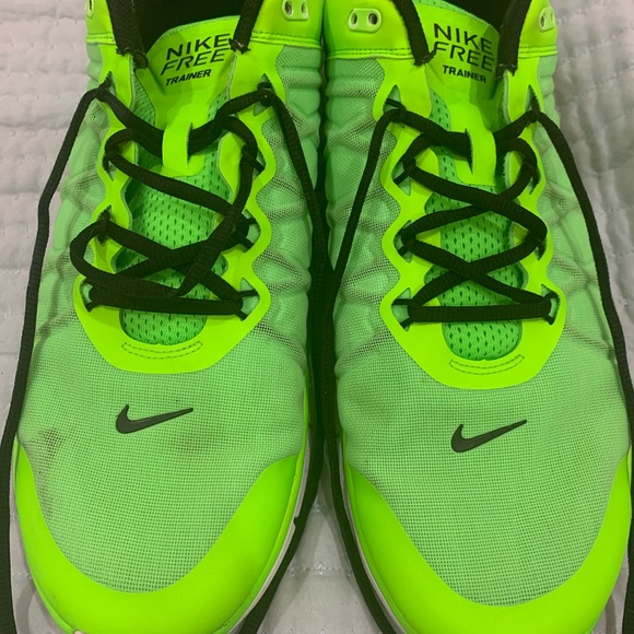 Shoes | Nike Neon Green 3 Free Trainers